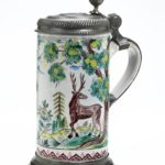 Ansbacher Jagdkrug um 1740 Grüne Familie