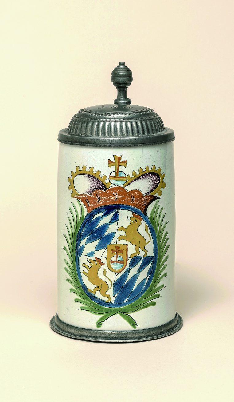 Crailsheimer Wappenkrug um 1790