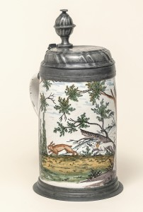 Crailsheimer Hasenjagdkrung um 1780