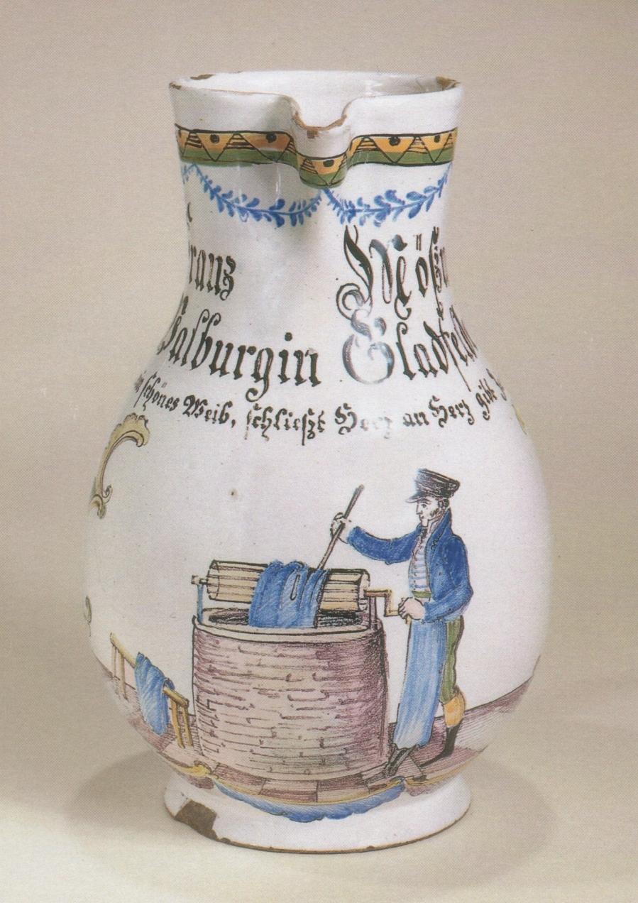 Durlacher Zunftkrug 1818 datiert