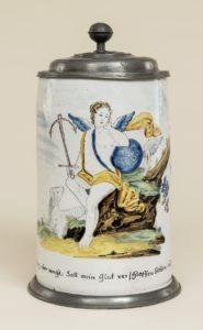 Friedberger Walzenkrug um 1760