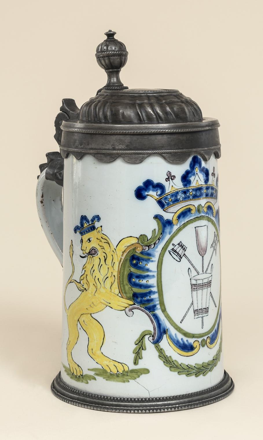 Schrezheimer Bierbrauerzunftkrug um 1790