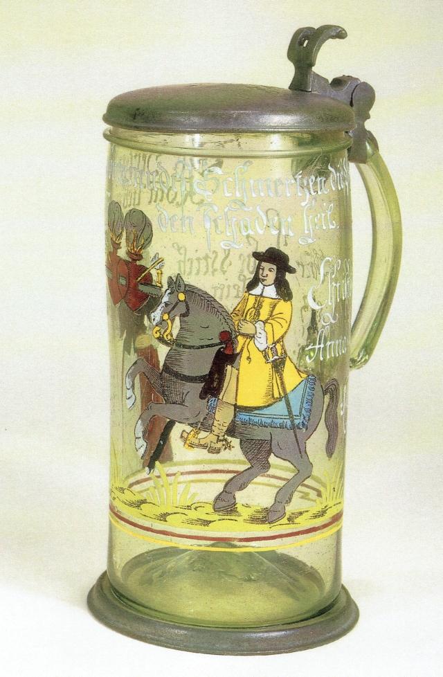 Brandenburger Hochzeitshumpen 1672 datiert