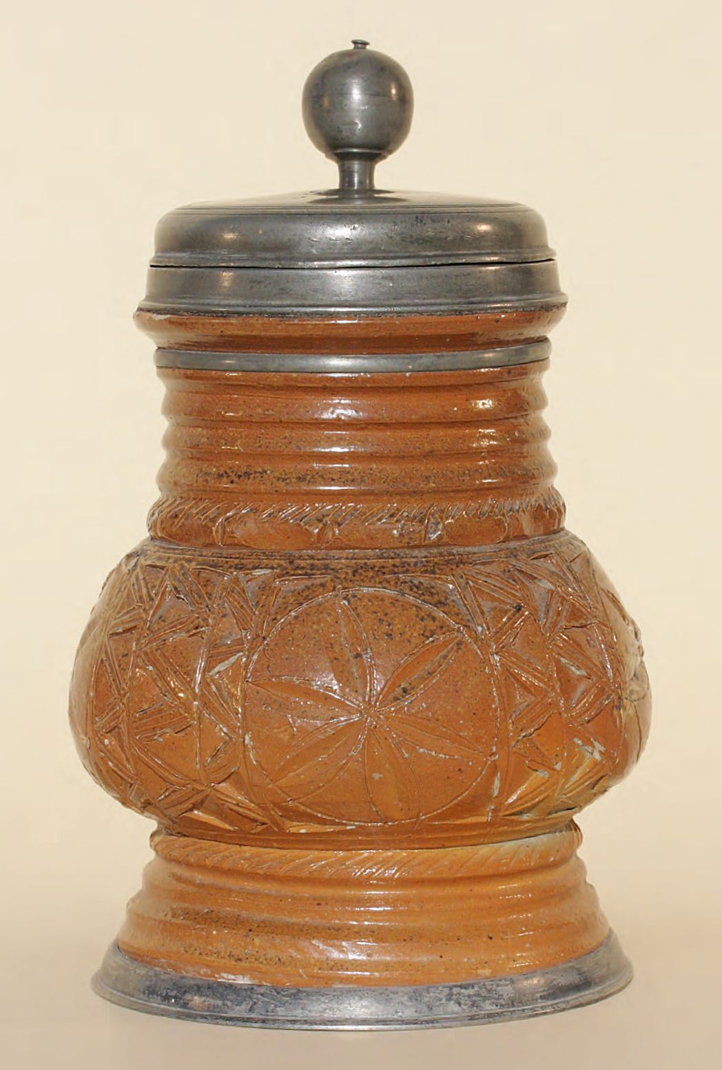 Antique 17th century Altenburg Stoneware Stein ca. 1690