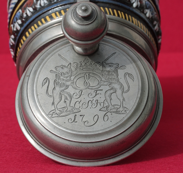 Dippoldiswalde-Annaberg-Baker Guild Stoneware Stein ca. 1700 H. 21 cm