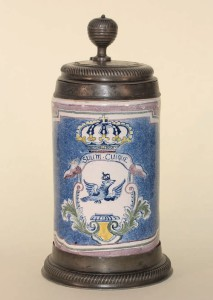 Berlin Faience Tankard ca. 1730