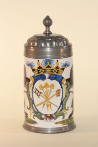 Crailsheim Faience Tankard Brewer Guilt ca. 1780