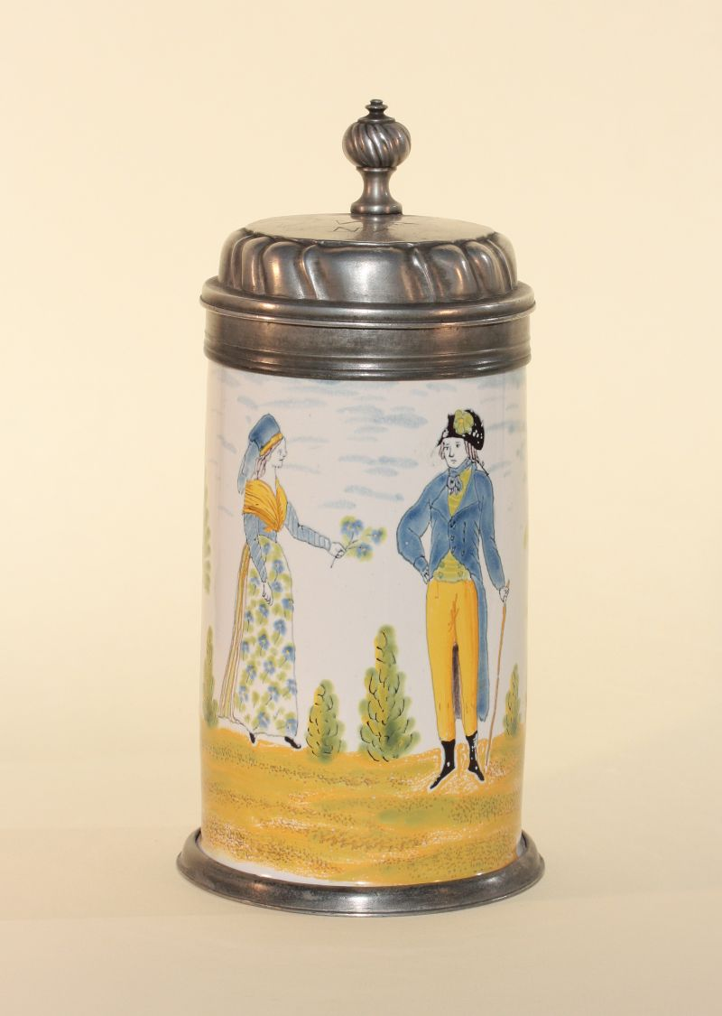 Crailsheim Tankard ca. 1790 H. 24 cm