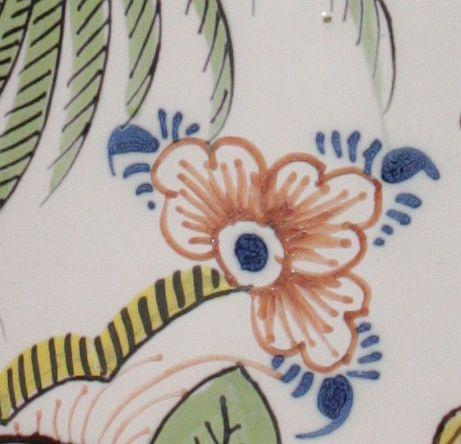 "Detail Bayreuth Faience Tankard Manufactuer Marks ""BFS"""