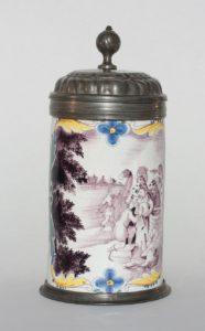Nuemberg Faience Tankard ca. 1773