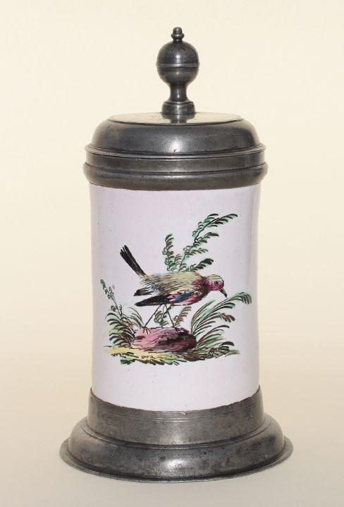 Proskau Faience Tankard ca. 1800 H. 21 cm
