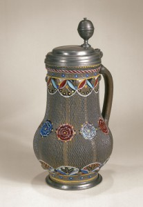 grman-stoneware-Freiberger Steinzeugkrug um 1670