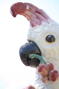 Majolika Papagei Porzellan Manufaktur Nymphenburg Joseph Wackerle