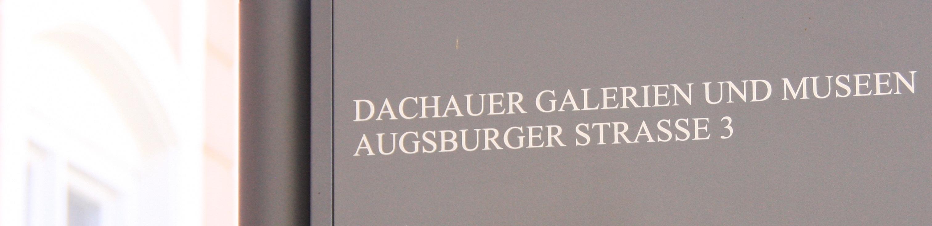 Bezirksmuseum Dachau Augsburger Str. 3 85221 Dachau Tel 08131/5675-0
