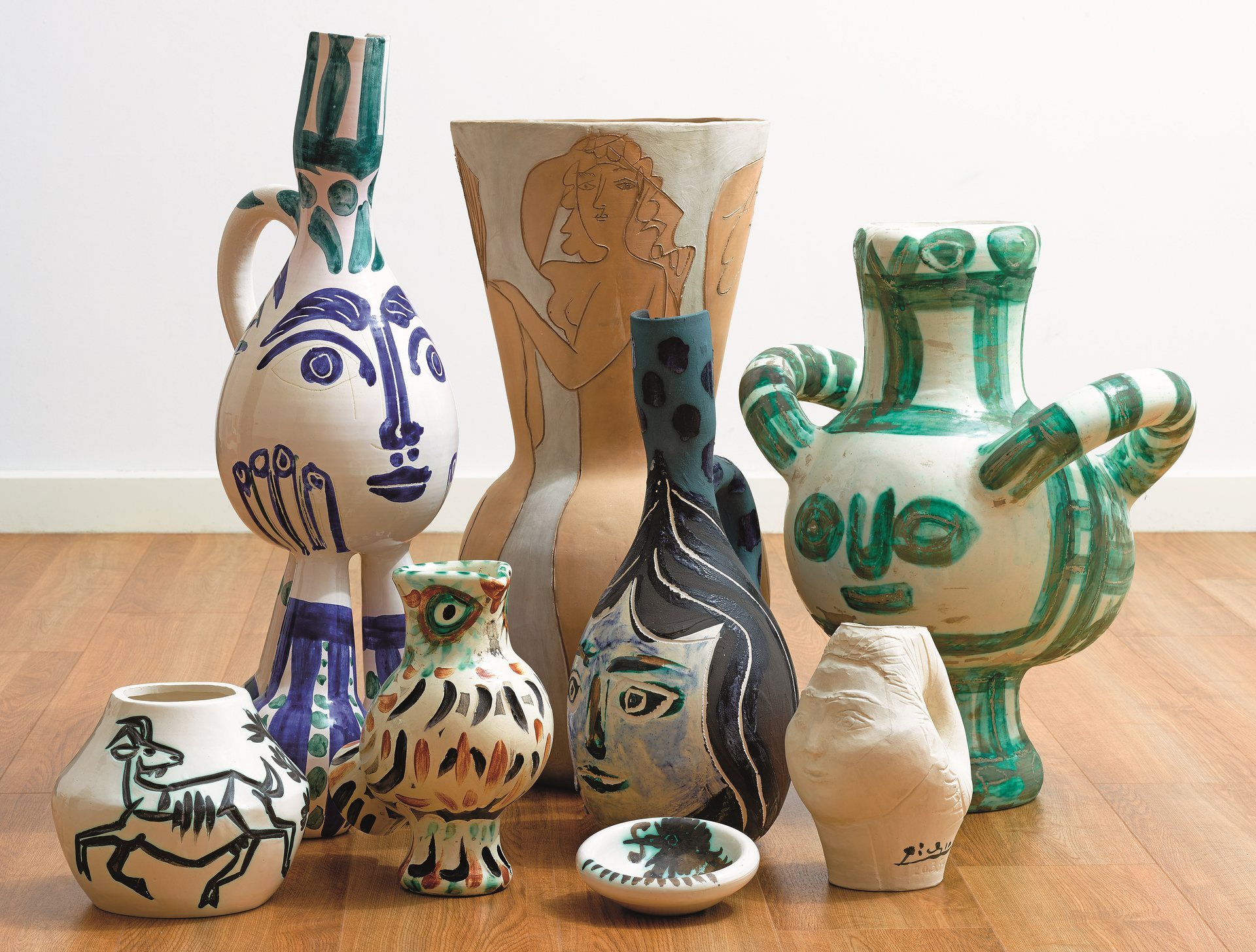 sothebys-picasso-ceramics-lord-lady-attenborough-collection-overview