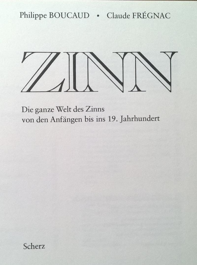 Boucaud Fregnac Zinn Scherz Verlag