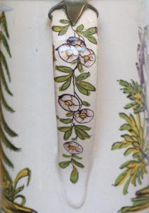 Detail Henkel Crailsheimer Jagdkrug um 1770
