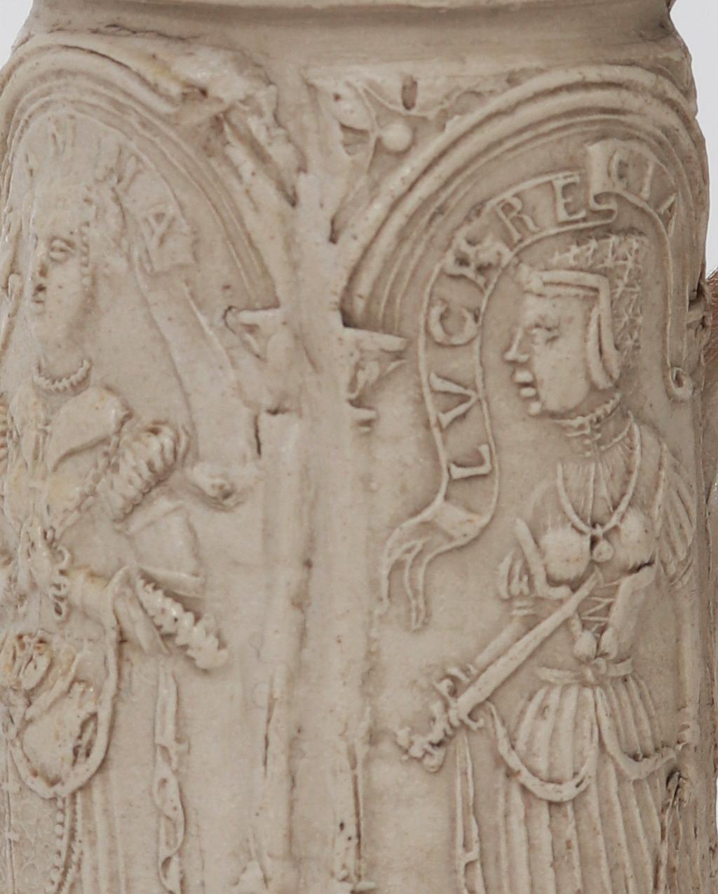 Detail Siegburger Schnelle 1765 datiert