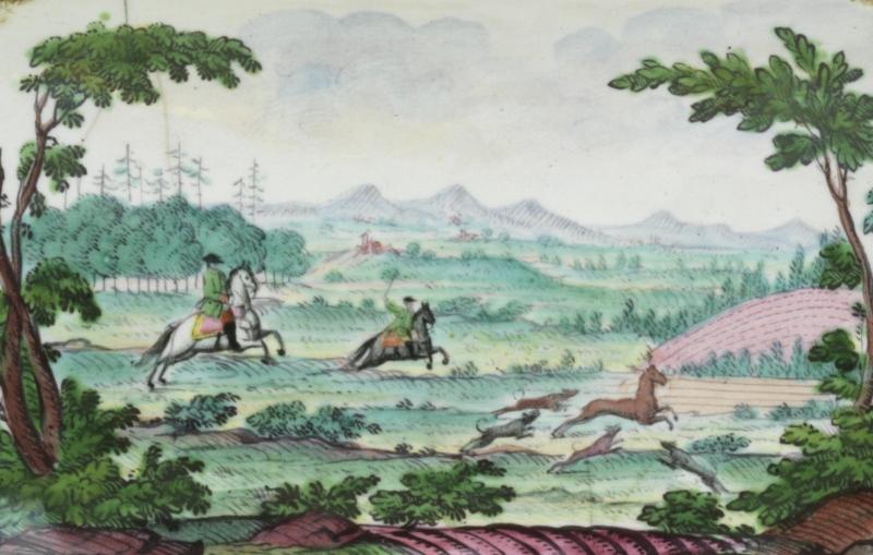 Emaildose Johann Andreas Bechdolff um 1765