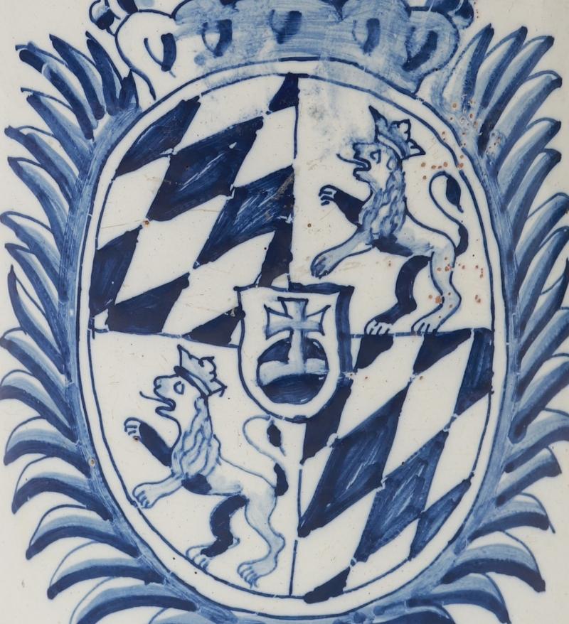 Friedberger Wappenkrug um 1762 Detail