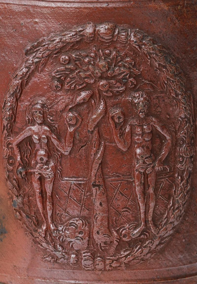 Waldenburger Steinzeughumpen um 1600