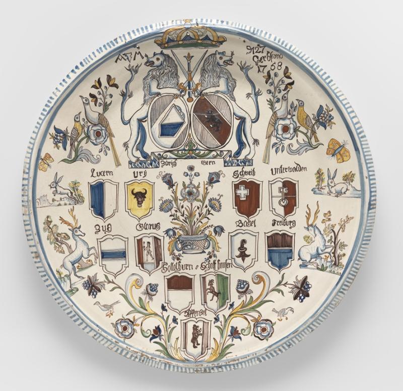 Teller Abraham Marti Blankenburg dat 1758