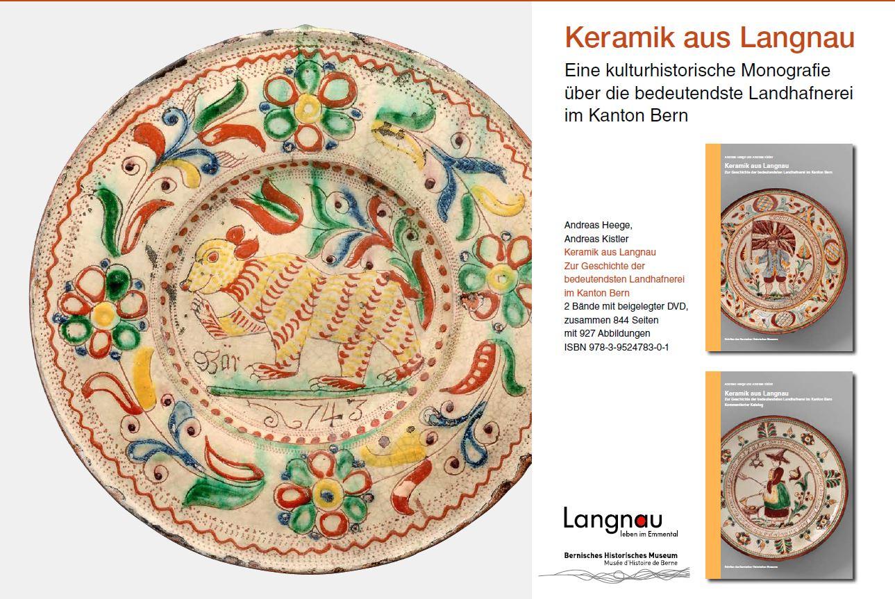Heege Kistler Keramik aus Langnau 2017