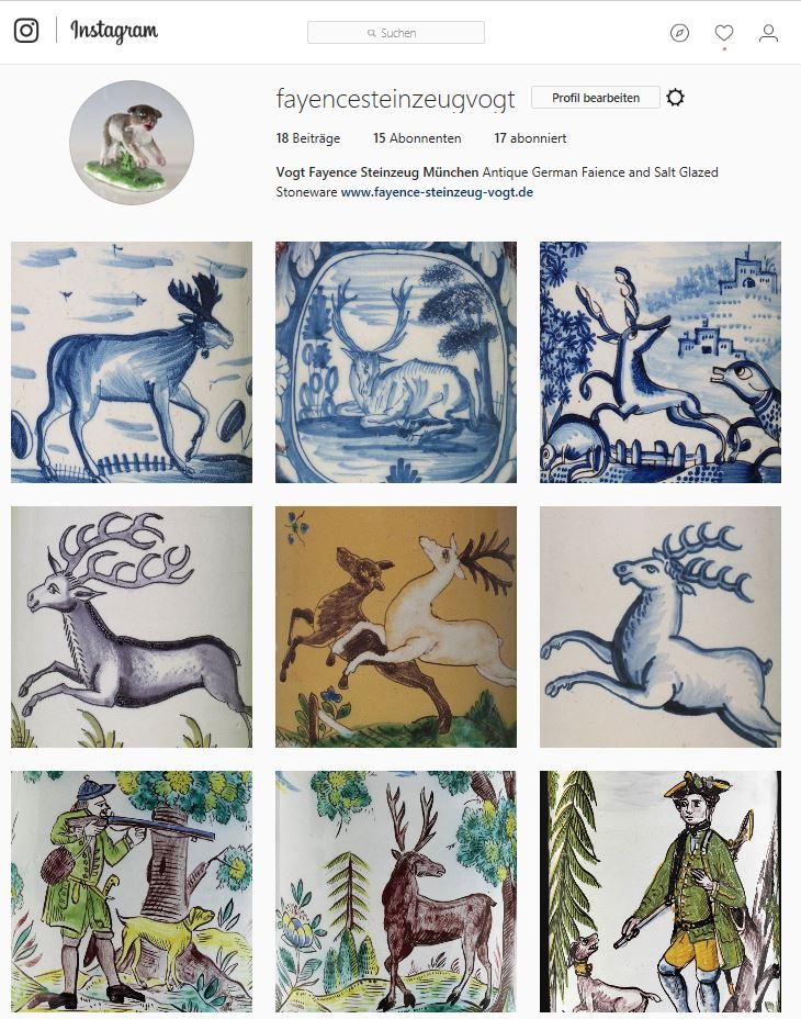 Instagram vogt fayence steinzeug