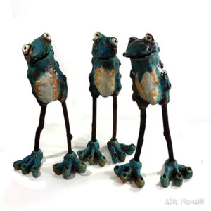 aare-freimann-frogs-sculpture-ceramics