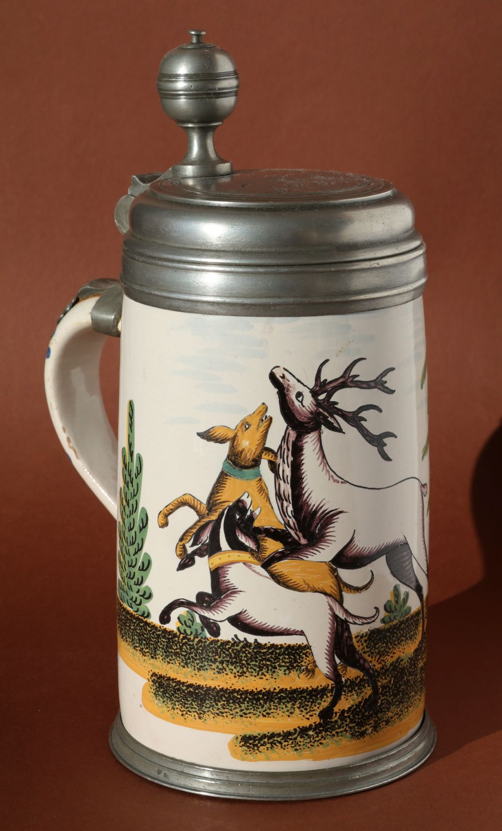 Crailsheimer Jagdkrug um 1780 Gelbe Familie