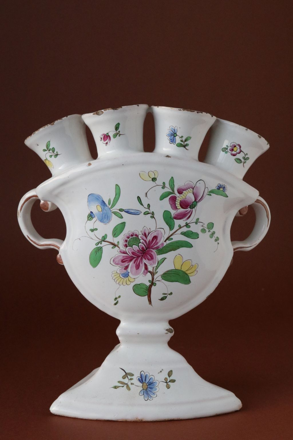 Ludwigsburger Tulpen Vase um 1760