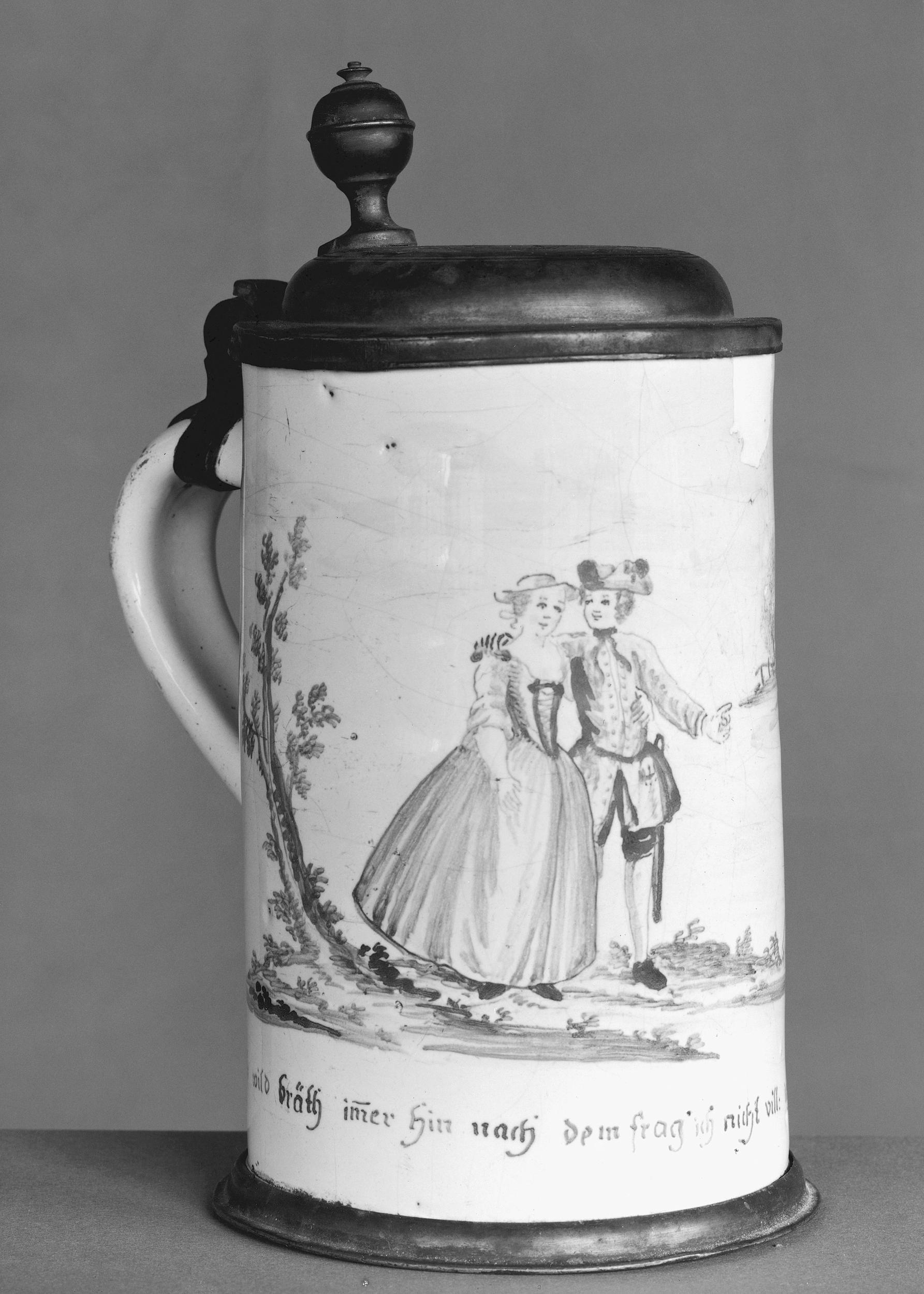 Tankard Friedberg 18. JH copyright Victoria Albert Museum