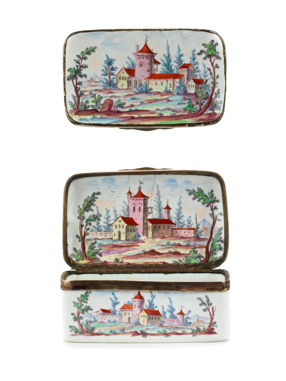 18th century Snuff Box Joh. Andreas Bechdolff Ellwangen ca. 1770