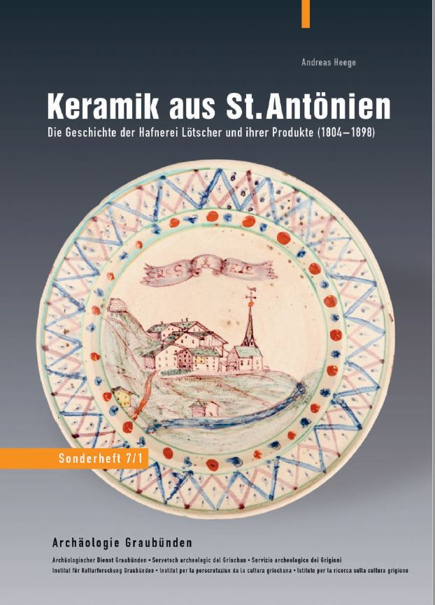 Andreas Heege Archaelogie Graubuenden Sonderheft 7 - 1