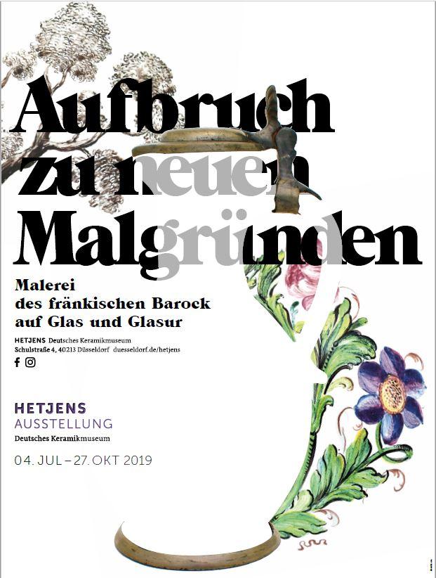 Ausstellung Hetjens Kermik Museum Aufbruch zu neuen Malgruenden 2019