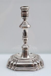 Baroque Silver Candlestick Augsburg early 18th century works of art