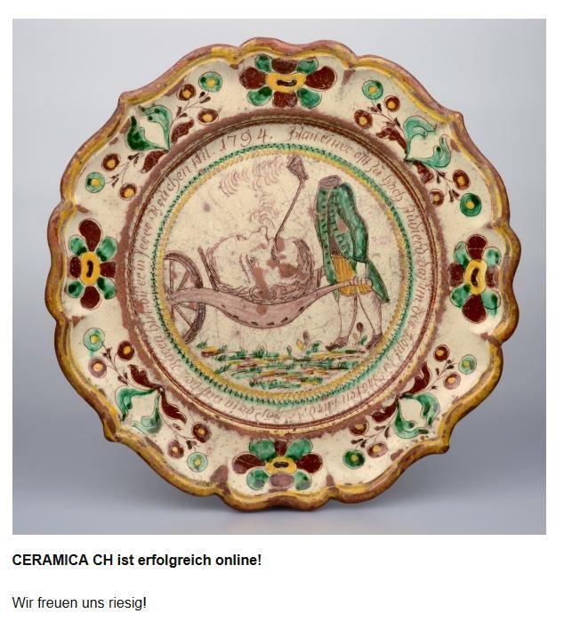 Bildatenbank Keramik in Schweizer Museen