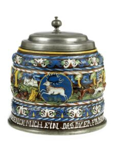 Creussen Creußener Hasenjagdhumpen 17. Jahrhundert