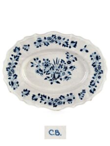 18th century Cermaics Friedberg Faience Charger