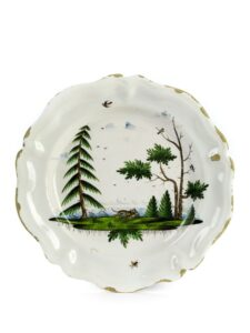 18th century Kunersberg faience hunting charger