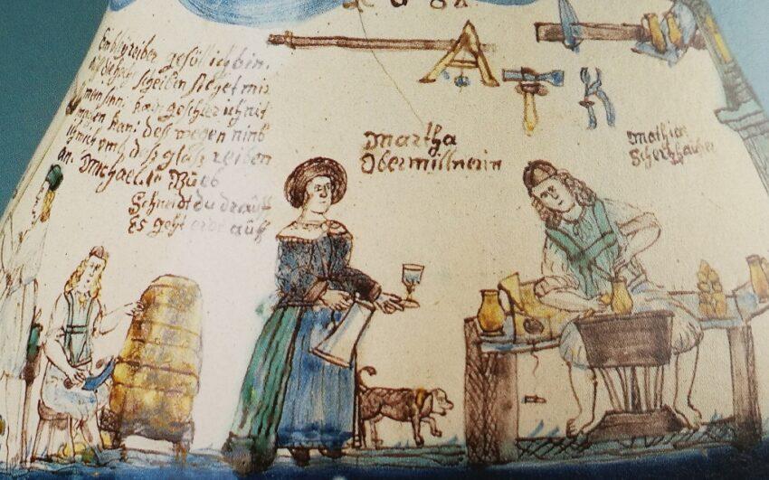 Carolo Augustinum Sammlung Salzburg Fayence Werkstatt Obermillner