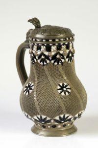17th century works of art Freiberg saltglazed stoneware Jug