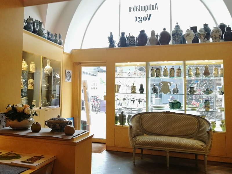 Baroque Faience Stoneware Antiques Munich