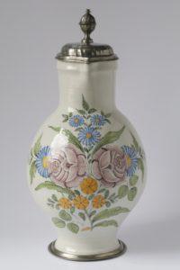 Baroque 18th century Bareuth Fainence Jug ca. 1780