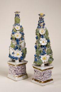 Abtsbessingen Fayence Blumen Pyramide um 1760