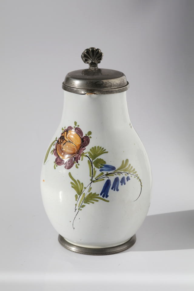 18th century Floersheim Faience jug